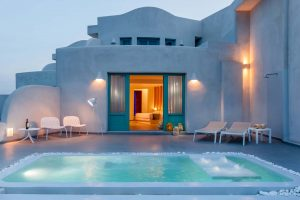 Neptune Luxury Suites in Akrotiri of Santorini