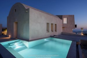 Hydrolysis works for Pools and Jacouzi's in Santorini island